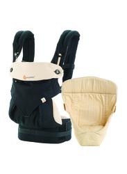 Ergobaby 360 Bundle of Joy Baby Carrier, Black Camel