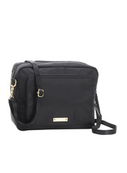 Storksak Mini Fix Cross Body Changing Bag, Black