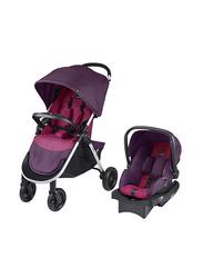 Evenflo Folio Stroller Travel System, Berry, Purple