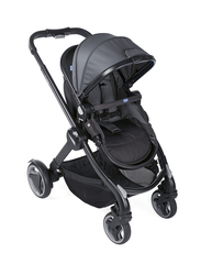 Chicco Fully Single Stroller, Stone, Grey