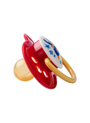 Pigeon Rubber Pacifier Olive, Red