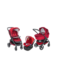 Chicco Duo StyleGo Up Single Stroller, Red Passion
