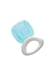 Pigeon Cooling Teether, Square, Blue