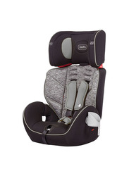 Evenflo Theron 3-in-1 Booster Car Seat, Group 1-3, Black Granite