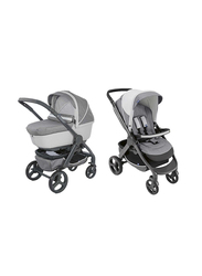 Chicco Duo StyleGo Up Crossover Single Stroller, Grey