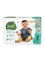Seventh Generation Baby Diapers, Stage 2, Newborn, 5-8 kg, 36 Count