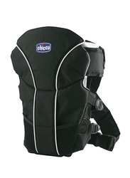 Chicco UltraSoft 2-in-1 Infant Baby Carrier, Black