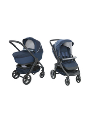 Chicco Duo StyleGo Up Crossover Single Stroller, Blue Passion