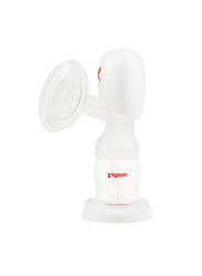 Pigeon Breast Pump Portable Electric, White