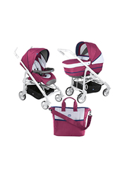 Chicco Duo Love Up Single Stroller, Red Plum
