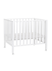 Childhome Playpen 94 Beech 75 x 95cm Cribs, White