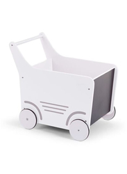 Childwood Wooden Normal Stroller, White