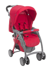 Chicco Simplicity Top Single Stroller, Red