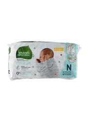 Seventh Generation Baby Diapers, Size 2, Newborn, 2-5 kg, 36 Count