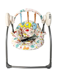 Evenflo Deluxe Infant Baby Swing, with Music, Beige