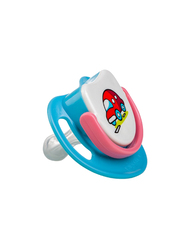 Pigeon Silicone Step-1 Pacifier, Car, Blue