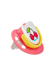 Pigeon Silicone Step-3 Pacifier, Cherry, Pink