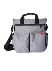 Skip Hop Duo Signature Bag, Heather Grey