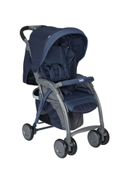 Chicco Simplicity Top Single Stroller, Blue Passion