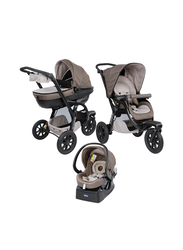 Chicco Trio Activ3 Single Stroller with Kit Car, Dove Grey