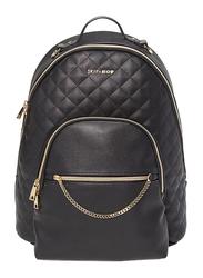 Skip Hop Linx Quilted Diaper Backpack Bag, Black