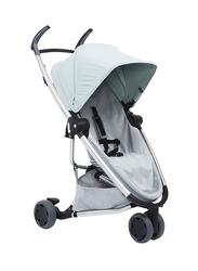 Quinny Zapp Flex Single Stroller, Frost on Grey, Light Green