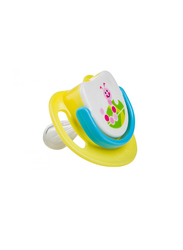 Pigeon Silicone Step-2 Pacifier, Caterpiller, Yellow