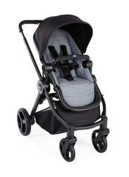 Chicco Best Friend Single Stroller, Stone, Black