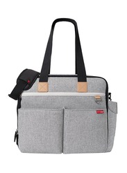 Skip Hop Duo Signature Weekender Diaper Bag, Grey Melange