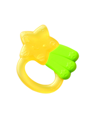 Pigeon Cooling Teether, Star, Yellow