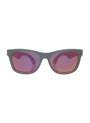 Babiators Full Rim Aces Navigator Wayfarer Sunglasses for Kids, Galactic Gray, ACE-015