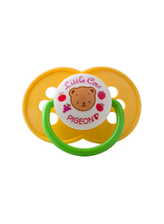 Pigeon Rubber Cherry Pacifier, Yellow