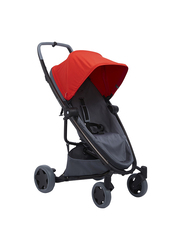 Quinny Zapp Flex Plus Single Stroller, Red on Graphite