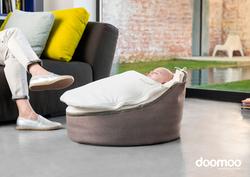 Doomoo Seat Nest, White