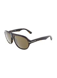 Tom Ford Ivan Full Rim Aviator Tortoise Sunglasses for Women, Brown Lens, TF397 52J, 58/17/145