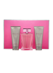 Kenneth Cole 3-Piece Reaction for Her Gift Set for Women, 100ml EDP, 100ml Body Lotion, 100ml Body Wash