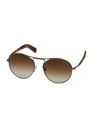 Tom Ford Jessie Full Rim Aviator Brown Sunglasses Unisex, Gold/Brown Lens, TF449-33F, 54/18/145
