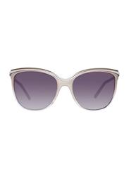 Guess Gradient Full Rim Square Sunglasses for Women, Grey Lens, GU7419 57B, 59/14/135