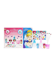 Disney Princess 8-Piece Kit Gift Set for Girl Create Your Own Perfumes, EDT 2 x 10ml, Bottle of 2 PCS, Stickers, Dropper, Measuring Cup, Funnel, Test Papers