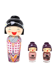 Kokeshi 3-Piece Lotus Gift Set for Girls, 50ml EDT, 2 Nail Lacquers