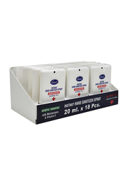 Smart Instant Germ Protection Hand Sanitizer Spray Set, 20ml, 18 Pieces