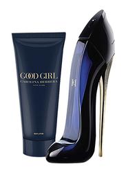 Carolina Herrera 2-Piece Good Girl Travel Set for Girls, 80ml EDP, 100ml Body Lotion