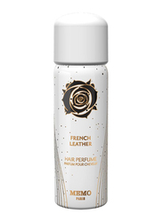 Memo French Leather Hair Mist for All Hair Types, 80ml