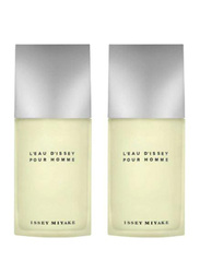 Issey Miyake 2-Piece L'Eau D'Issey Perfume Set for Men, 2 x 40ml EDT