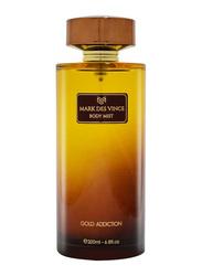 Mark Des Vince Gold Addiction 200ml Body Mist for Women