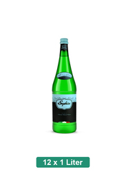 Sophia Italian Natural Still Mineral Water, 12 Glass Bottles x 1 Liter