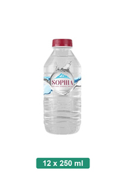 Sophia Turkish Natural Still Mineral Water, 12 Plastic Bottles x 250ml
