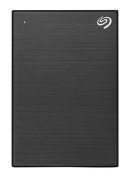 Seagate 2TB HDD Backup Plus Slim External Portable Hard Drive, USB 3.0, Black