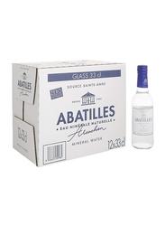 Abatilles Still Natural Mineral Water, 12 Glass Bottles x 330ml