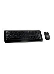 Microsoft 850 Wireless English Keyboard And Mouse, Black